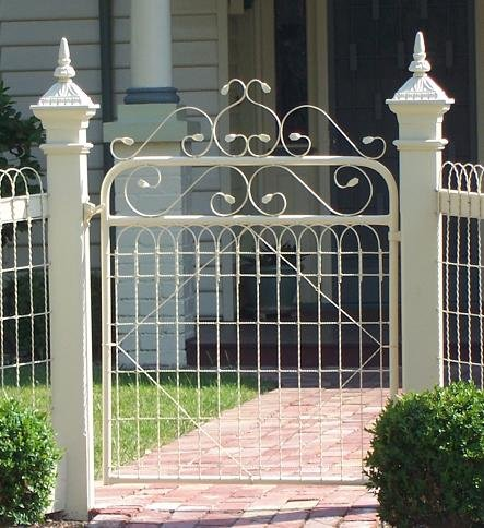 Matthews Fences And Gates Woven Wire Gates Matthews